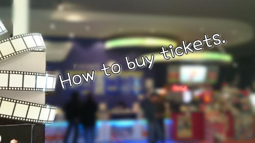英語でチケットを買う